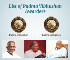 List of Padma Vibhushan Award  Winners