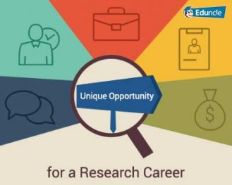 Unique Opportunity for a Research career