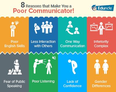 Reasons of Poor Communication