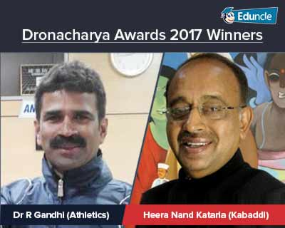 Dronacharya Award 2017 Winners