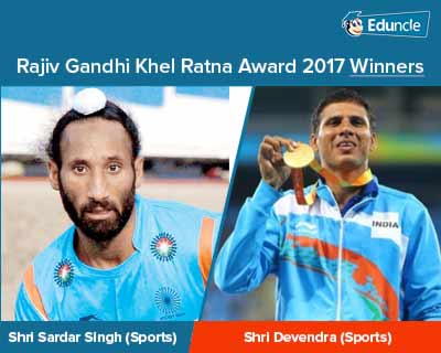 Rajiv Gandhi Khel Ratna Award 2017