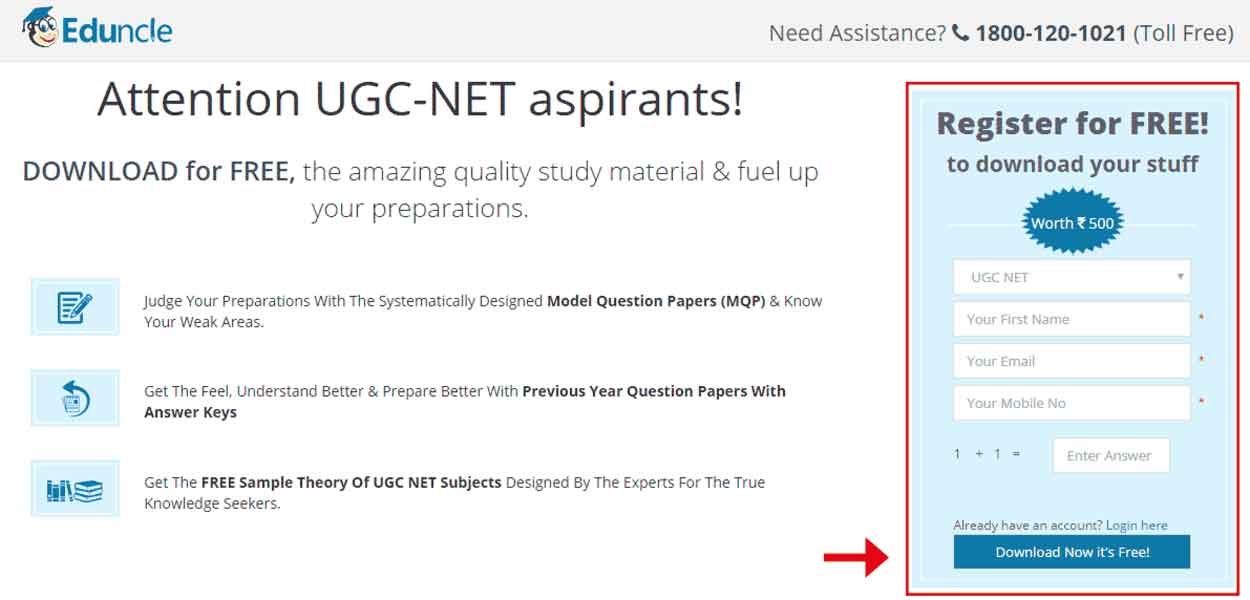 UGC-NET-Registration-Page