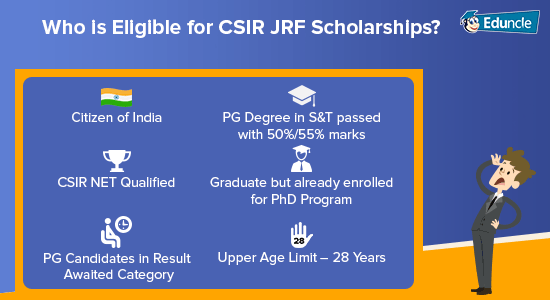 Who-is-eligible-for-CSIR-JRF-Scholarships