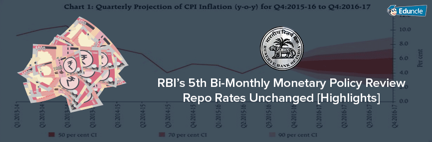 RBI 5th Bi-Monthly Policy Review