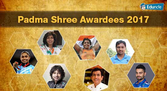 Padma Shree Awardees 2017