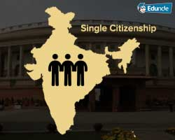 Single Citizenship