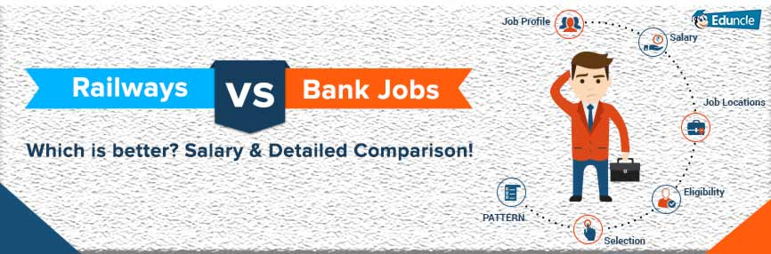 Railways vs Bank Jobs