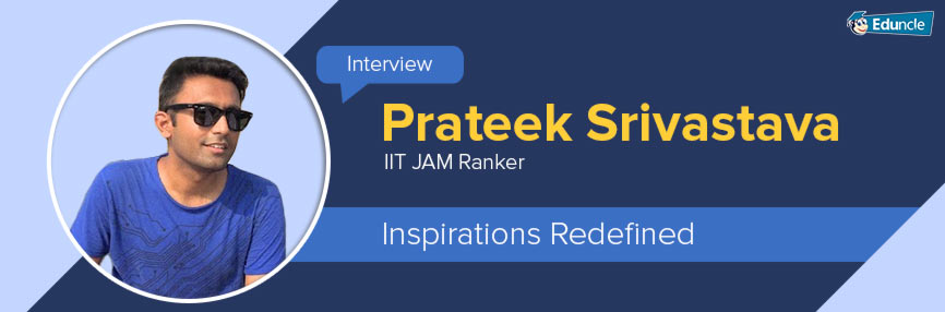 IIT JAM Rankers Interview