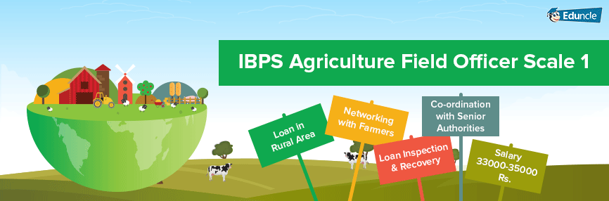 IBPS Agriculture Field Officer Job profile Infographics
