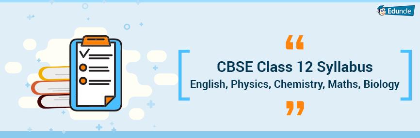 CBSE-Class-12-Syllabus