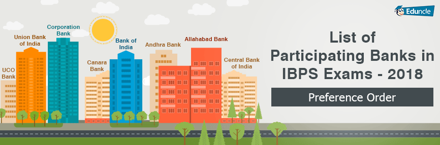 List of Participating Banks in IBPS Exam 2018