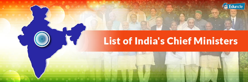 List of Chief Minister of India for All States - Latest