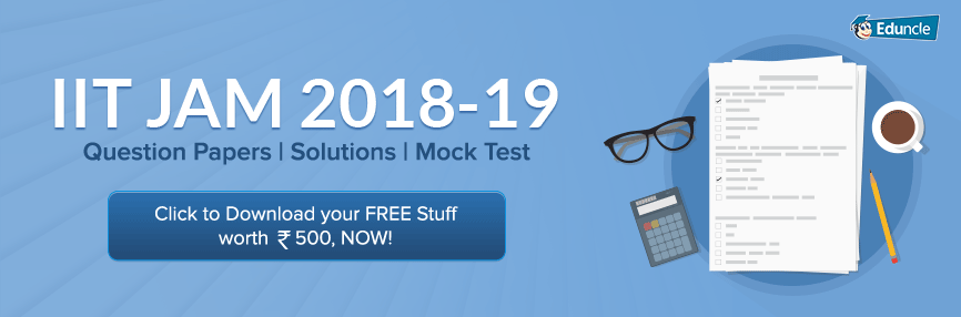 IIT JAM Previous Question Paper with Solution FREE PDF (2019 to 2014)