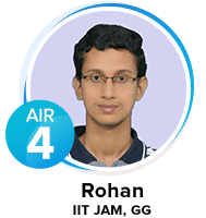 Rohan How good is  Eduncle's IIT JAM Study Material