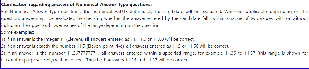 JEE Advanced Official Notice