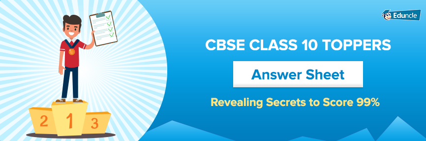 CBSE Class 10 Toppers - Answer Sheets