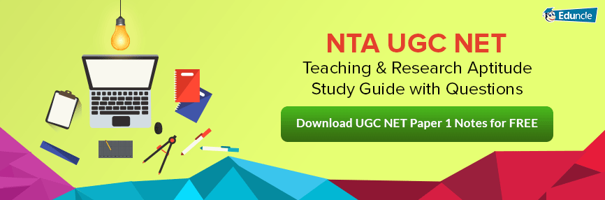 UGC NET Paper 1 Guide for Exam Preparation
