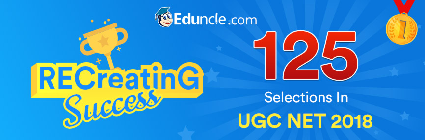 UGC NET Selections from Eduncle.com