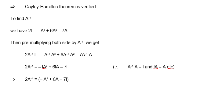 Cayley Hamilton Theorem 3