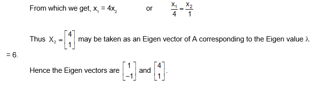 Example eigen value 4