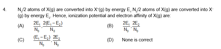 Periodic table 4 question