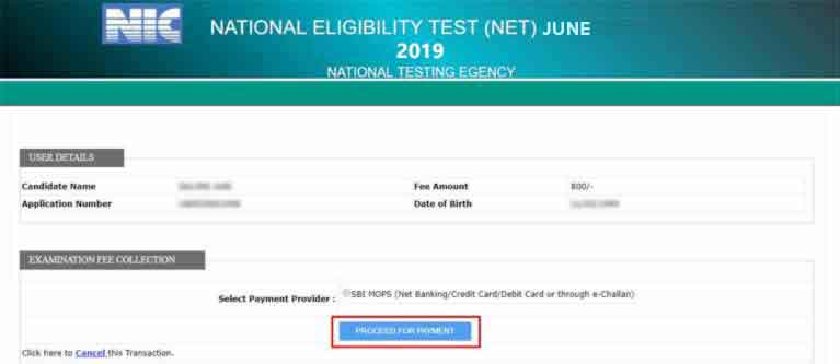 UGC-NET-2019-Apply-Online-Step-12