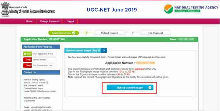 UGC-NET-2018-Apply-Online-Step-6
