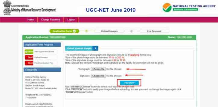 UGC-NET-2018-Apply-Online-Step-8