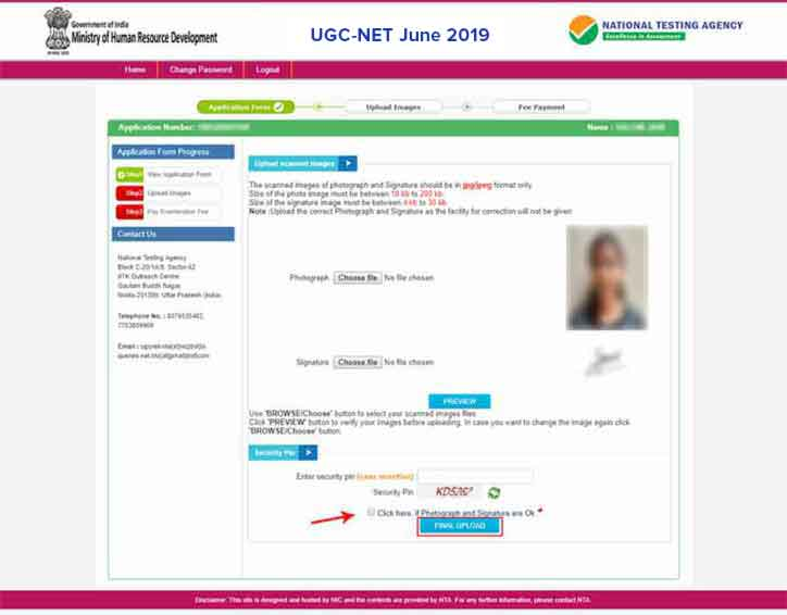 UGC-NET-2018-Apply-Online-Step-9