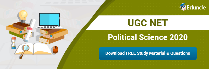 UGC NET Political Science