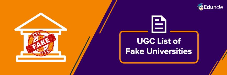 44 fake universities in india