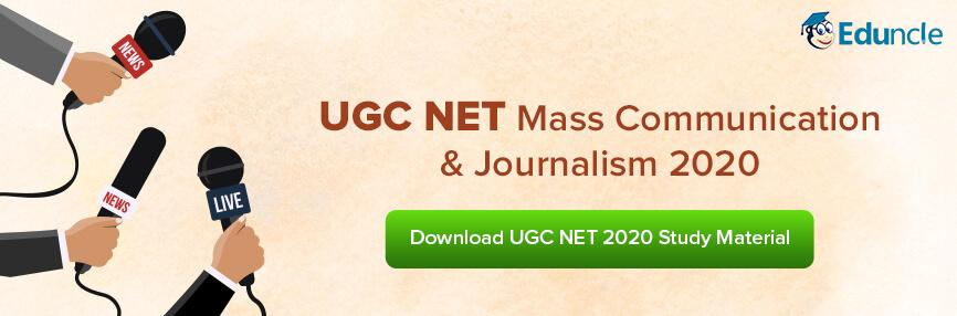 UGC NET Mass Communication