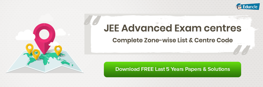 JEE Advanced Exam Centres