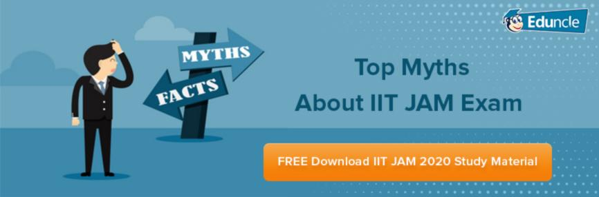 Top 12 Myths About IIT JAM
