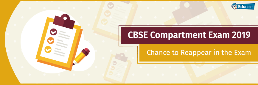 CBSE Compartment Exam 2019