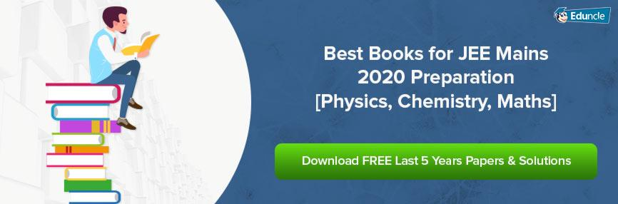 Best Books for JEE Mains 2020 Preparation