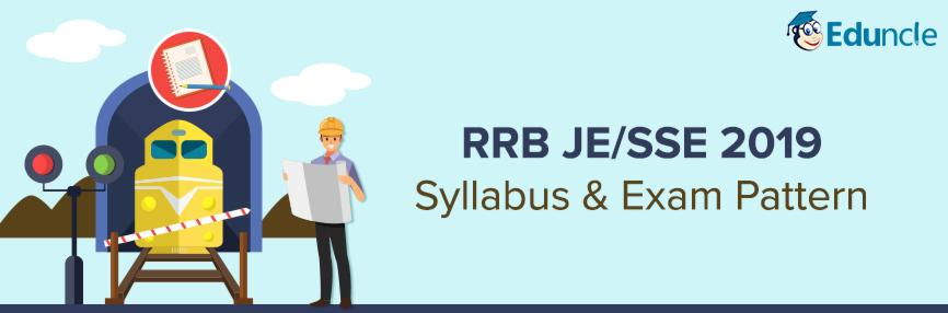 RRB JE/SSE Syllabus and Exam Pattern