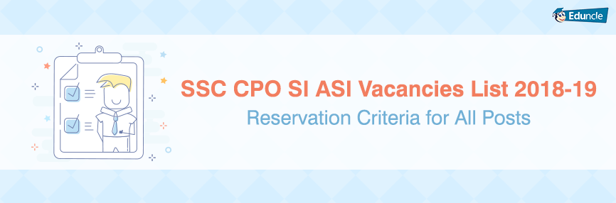 SSC CPO Vacancy 2019