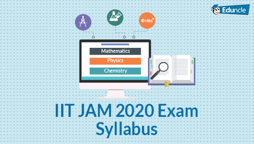 IIT JAM Syllabus 2020 for Physics, Chemistry & Mathematics (Updated)