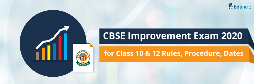 CBSE Improvement Exam 2020
