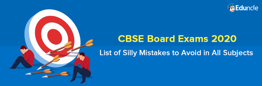 CBSE Board Exam Mistakes