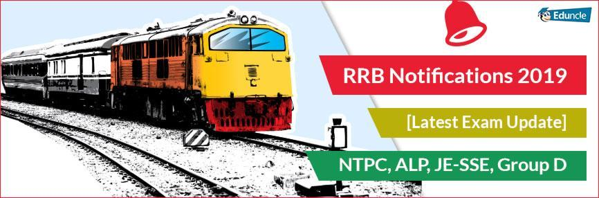 RRB Notification 2019 Updates