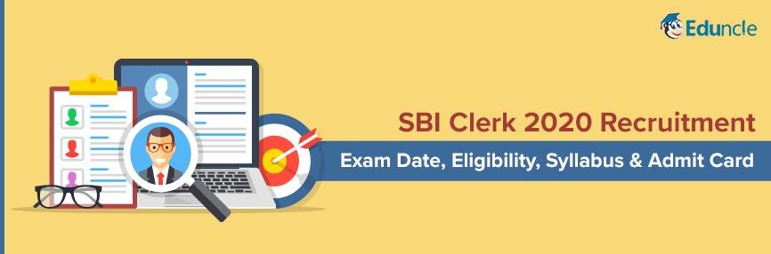 SBI Clerk 2020 Recruitment