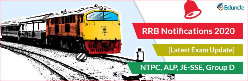 RRB Notification 2020 Updates