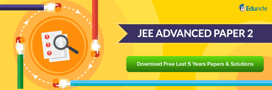 JEE Advanced Paper 2