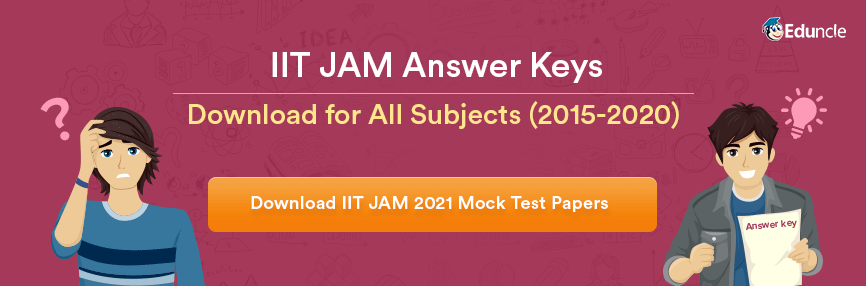 IIT JAM Answer Keys