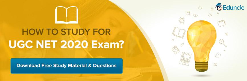 How to Study for UGC NET Exam?