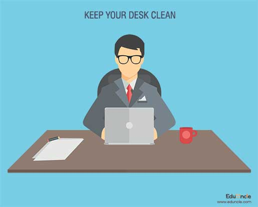 Keep-your-Desk-Clean