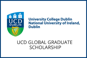 UCD Global Graduate Scholarship