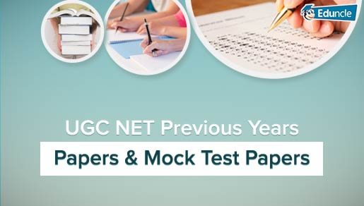UGC NET Question Papers | NET Exam Previous Papers